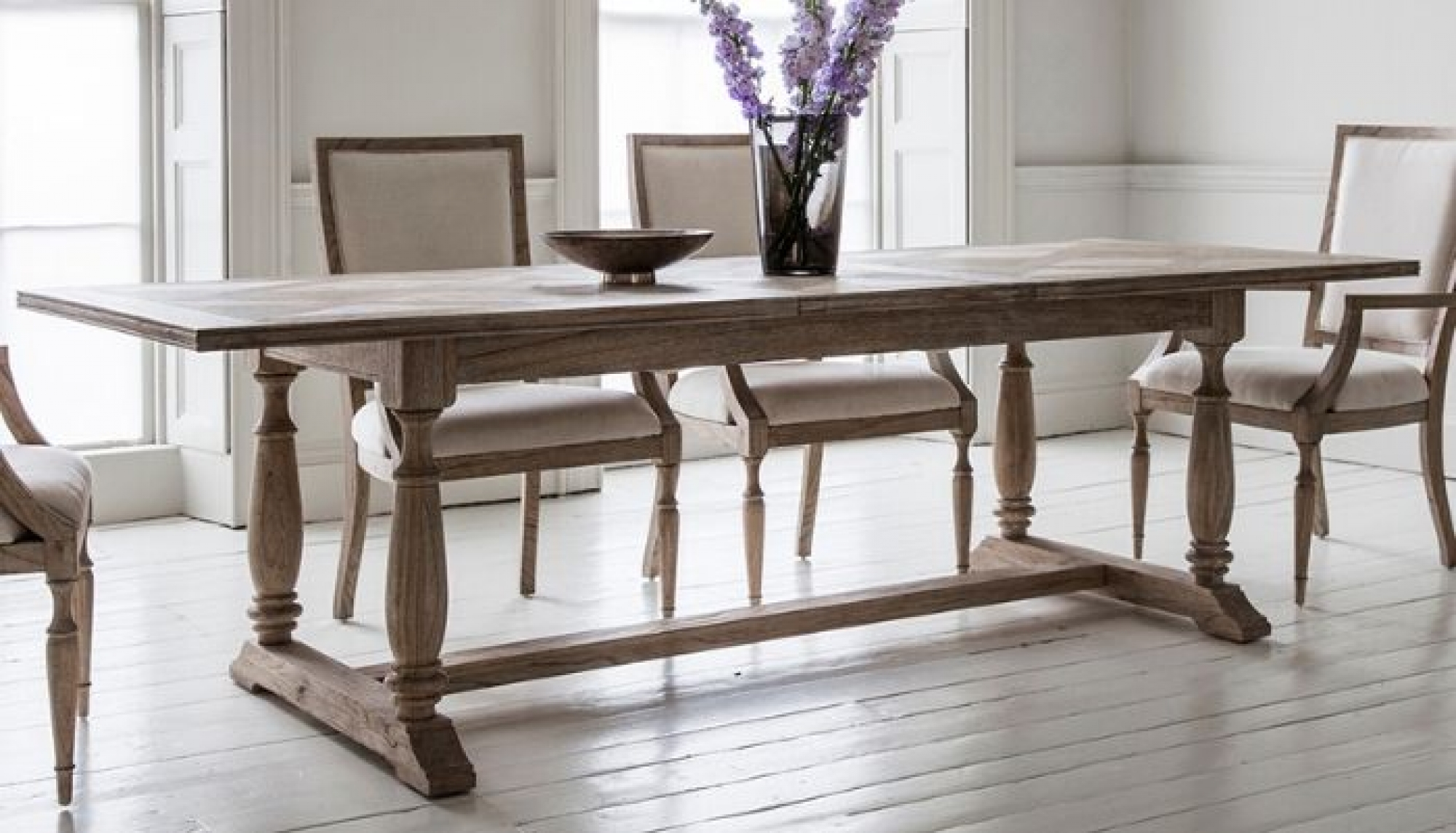 Mustique Large Extended Dining Table