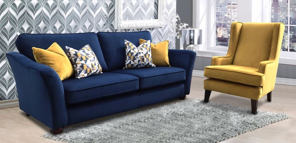 clare sofa and vanessa chair
