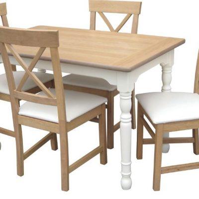 loire 4ft rectangular dining table