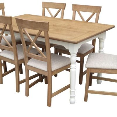 loire 6 ft rectangular dining table