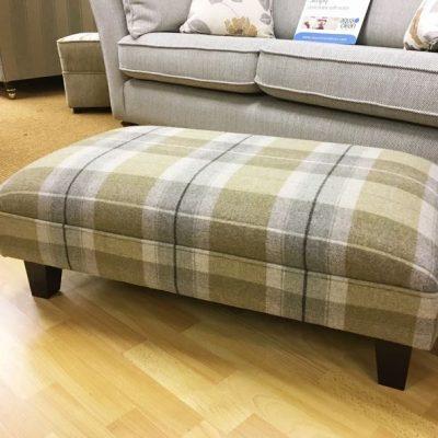 maple footstool