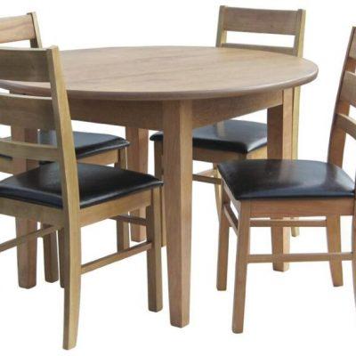 metro 3ft circular dining table