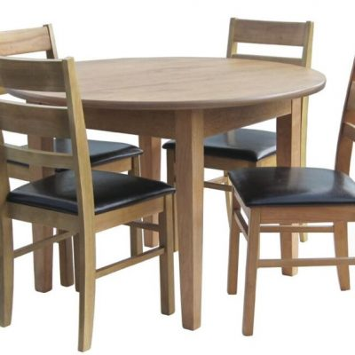 "metro 44"" circular dining table"