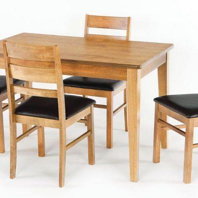 metro 4ft rectangular dining table