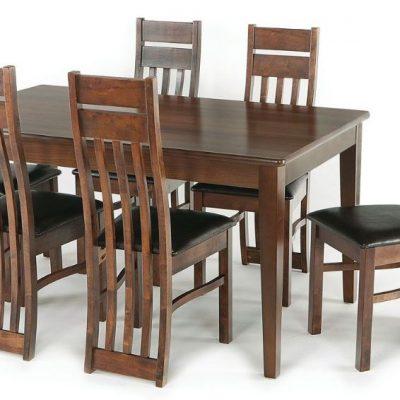 metro 6ft rectangular dining table