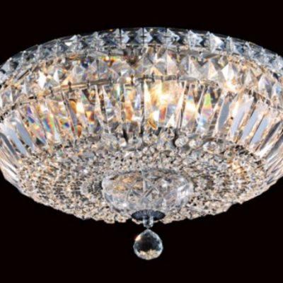 Portland 6 Light Crystal Bowl Chandelier