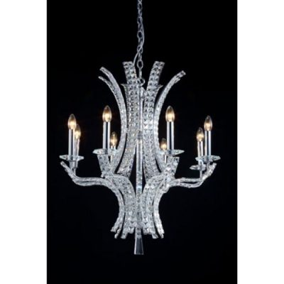 baltimore 8 LIGHT CRYSTAL CHANDELIER