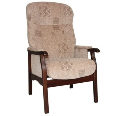 brandon fireside chair avon brown