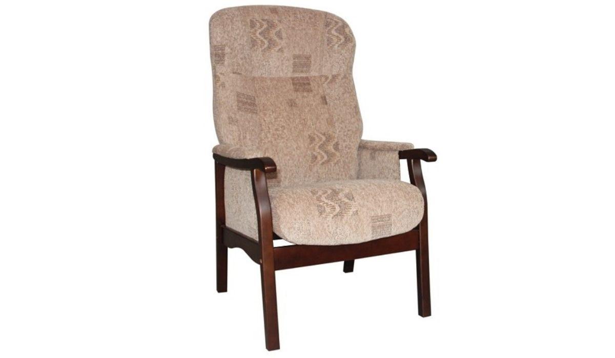 brandon fireside chair avon brown