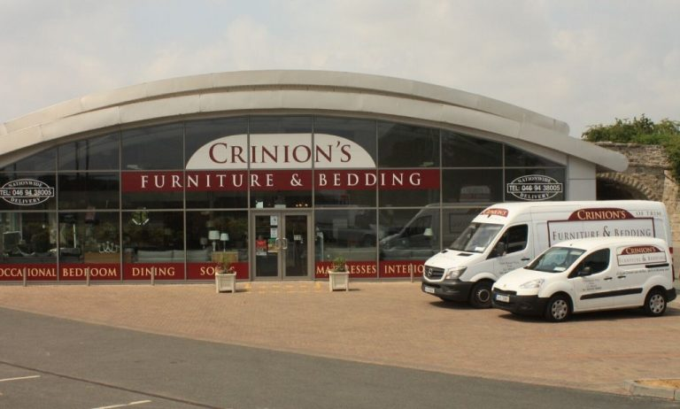 crinions furniture shop front
