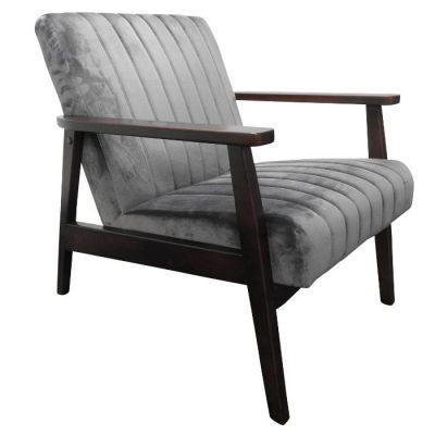 logan chair grey