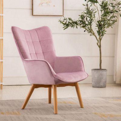 pink kayla chair