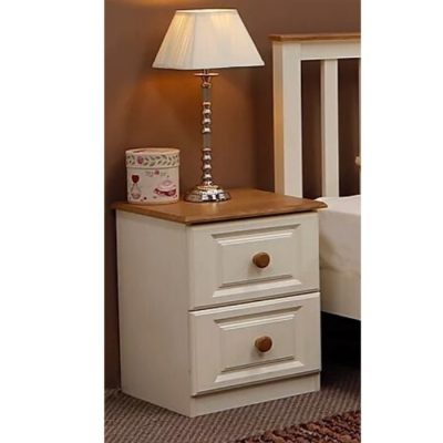 troscan ivory 2 drawer locker
