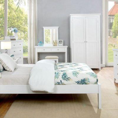 lily slatted bed frame