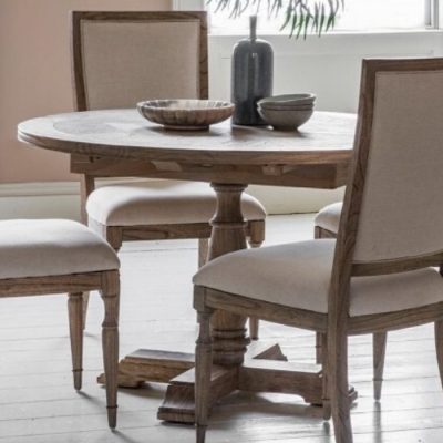 mustique extendable round table