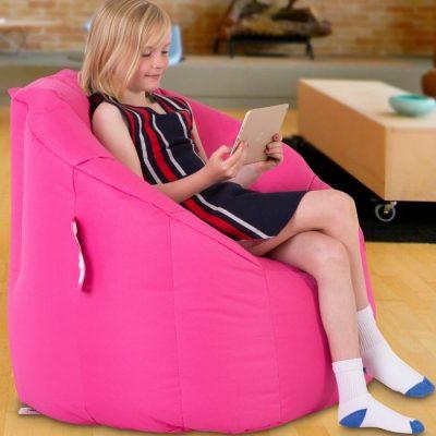 Snug Bean Chair Pink