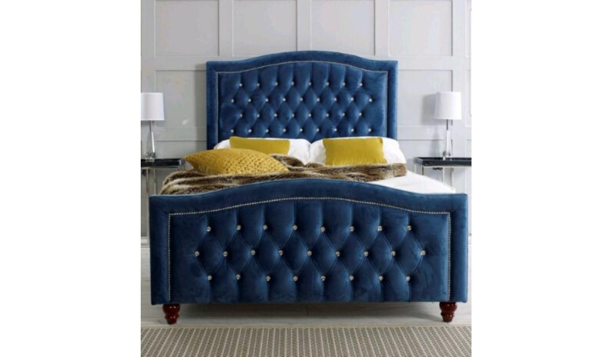 Bella Upholstered bedframe meath