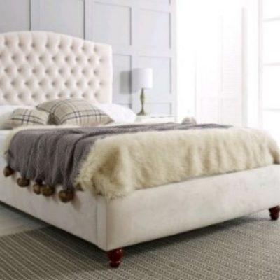 Flora Upholstered bedframe meath