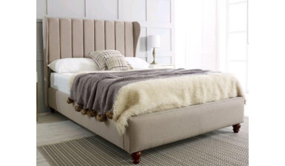 Lexi Upholstered bedframe meath
