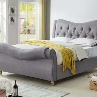 arizona upholstered bedframe meath