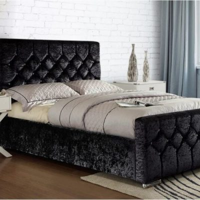 galaxy upholstered bedframe meath