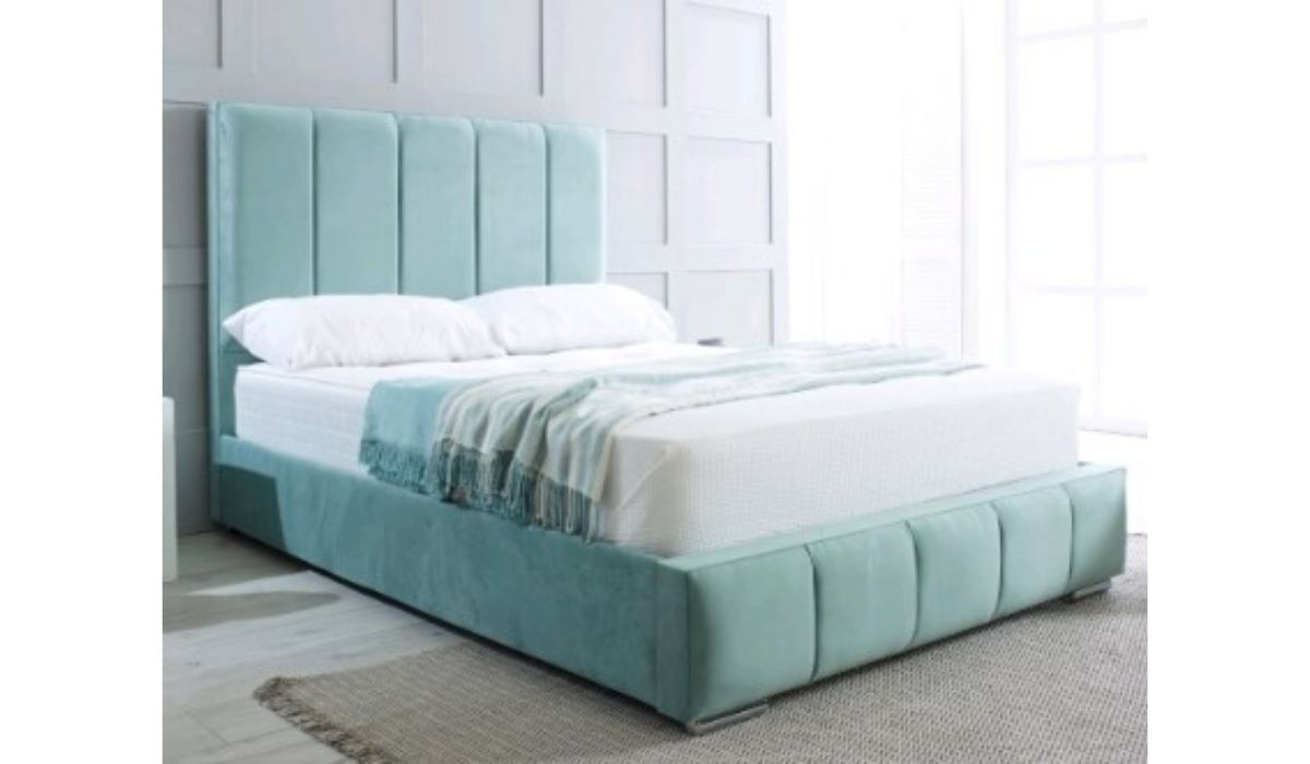 polly upholstered bedframe