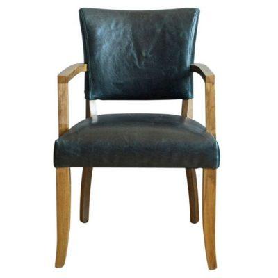 Duke leather armchair meath