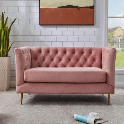 belle pink sofa meath