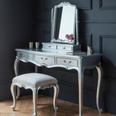 chic silver dressing table set meath
