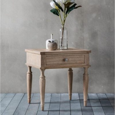 mustique 1 drawer side table meath
