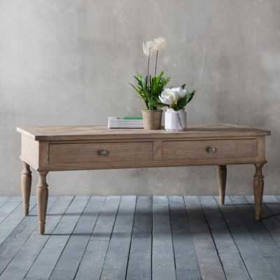 mustique 2 drawer coffee table meath