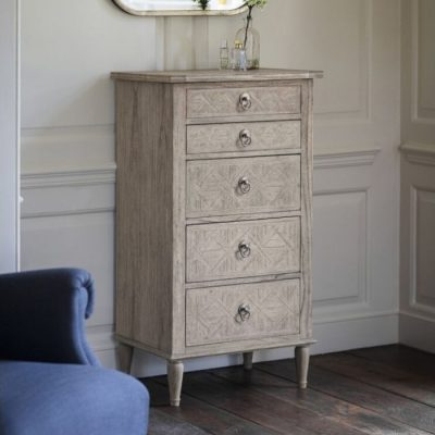 mustique 5 drawer lingerie chest meath