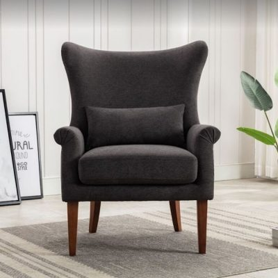 myron charcoal armchair meath