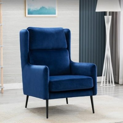 noah royal blue chair meath
