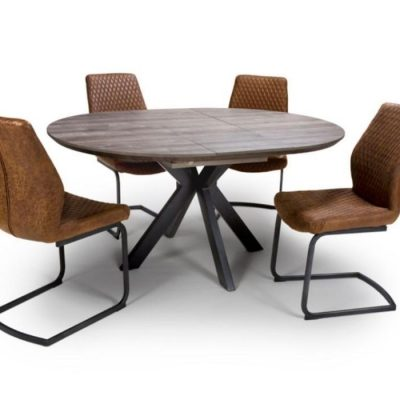 manhattan ROUND EXTENDING TABLE 1200 - 1600 meath