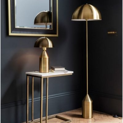 albany floor lamp gold meath