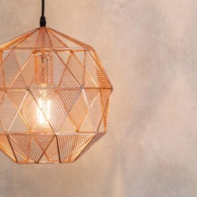armour pendant light copper meath