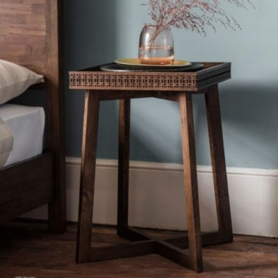 boho retreat bedside table meath