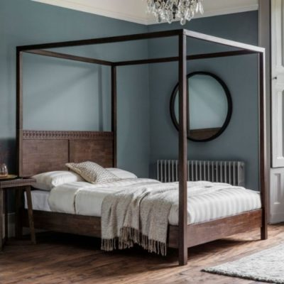 boho retreat four poster bed meath