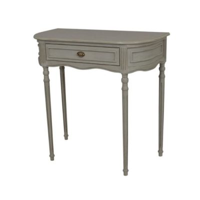 heritage 1 drawer grey hall table meath