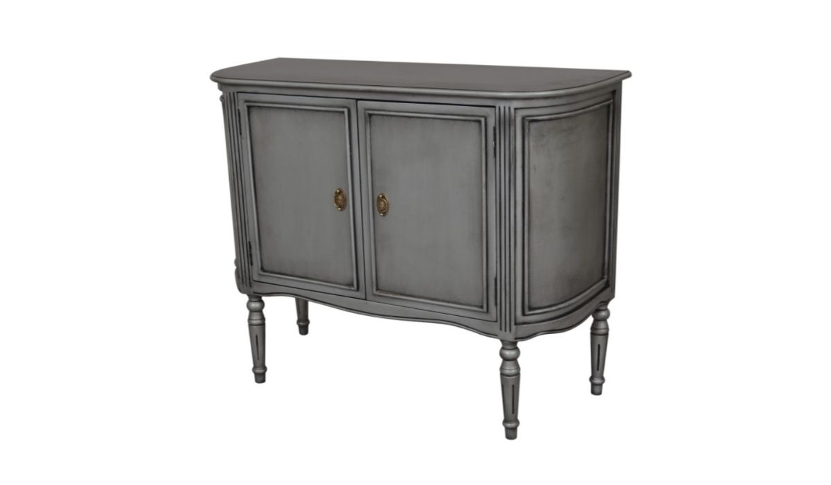 heritage 2 drawer silver sideboard meath
