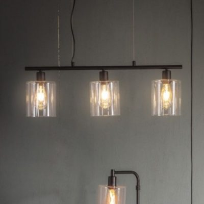 chicago 3 pendant light black meath