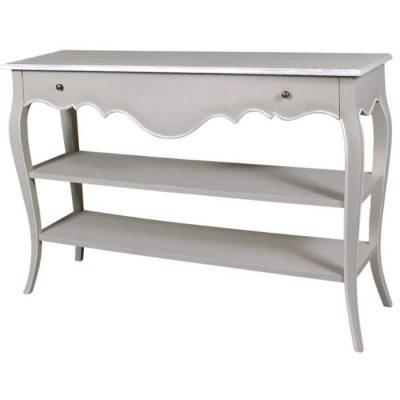 avignon 2 Shelf 1 Drawer console table meath