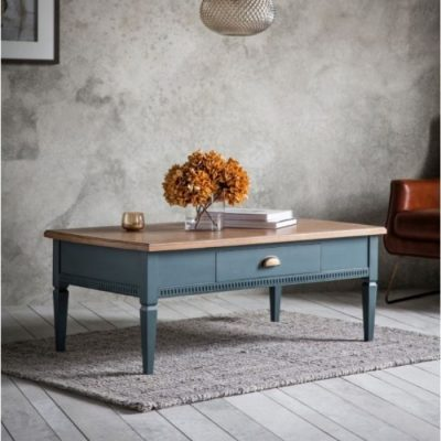 bronte 1 drawer coffee table storm meath