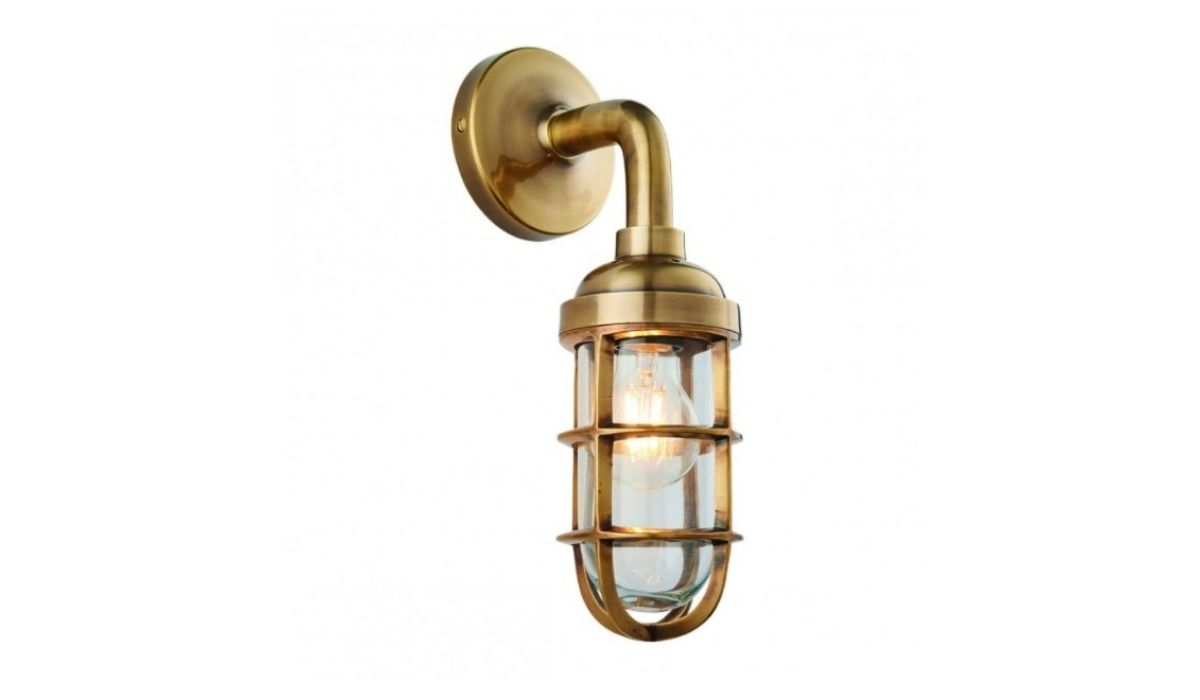 elcot wall light antique brass meath