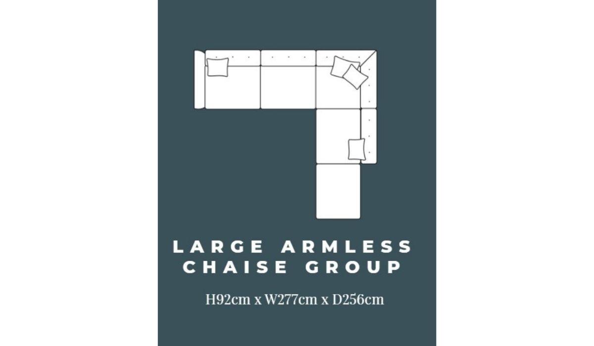 ashley large corner chaise meath