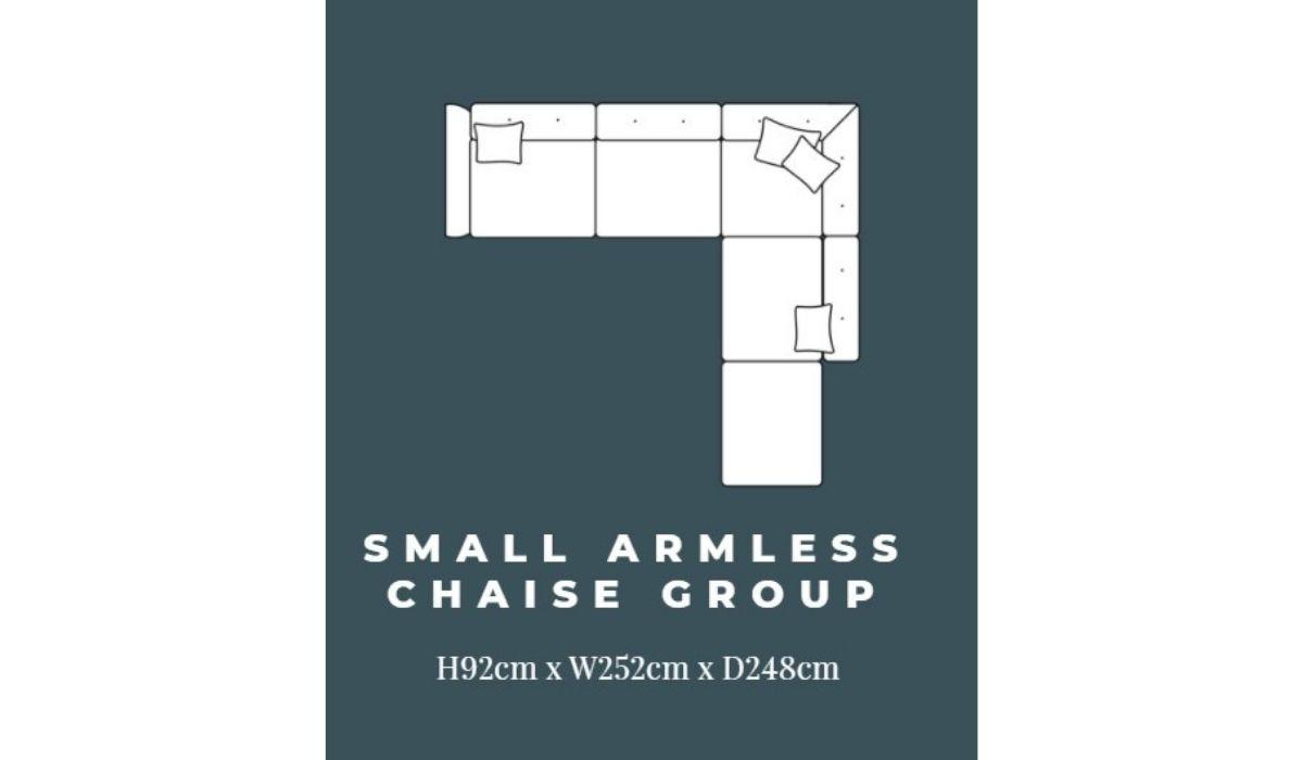ashley small corner chaise meath