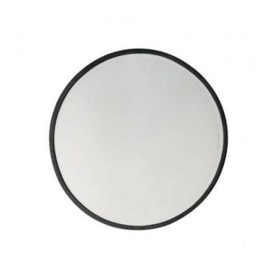 higgins round mirror black meath