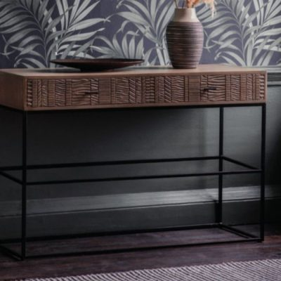 aztek 2 drawer console table meath