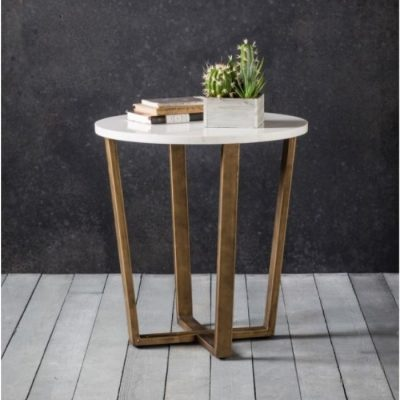 cleo round side table meath